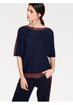 Пуловер RICK CARDONA by Heine. Цвет: темно-синий