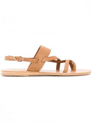 Сандалии Alethea Ancient Greek Sandals. Цвет: телесный