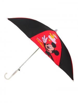 Зонт Disney. Цвет: черный, малиновый
