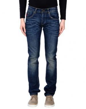 Джинсовые брюки JOE RIVETTO. Цвет: синий
