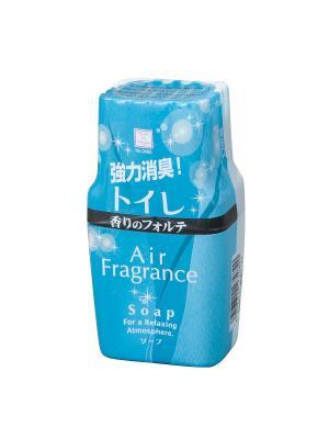 Air Fragrance фильтр запахов в туалете с ароматом  свежести и чистоты Kokubo. Цвет: голубой