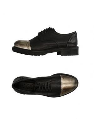 Обувь на шнурках KEB. Цвет: черный