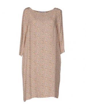 Короткое платье OTTOD'AME. Цвет: зеленый