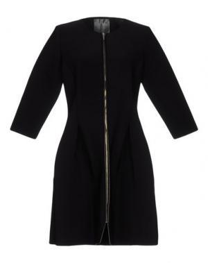 Легкое пальто ES'GIVIEN. Цвет: черный