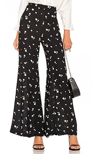 Широкие брюки encore Paper London. Цвет: черный