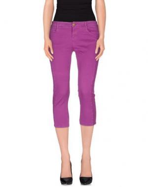 Брюки-капри TOY G.. Цвет: фиолетовый