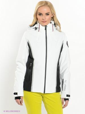 Куртка NAPAPIJRI. Цвет: белый, черный