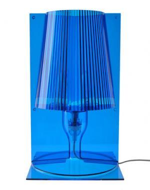 Настольная лампа KARTELL. Цвет: синий
