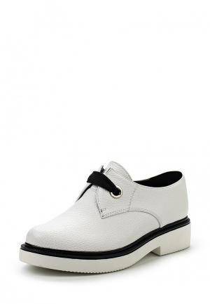Ботинки Gene. Цвет: белый