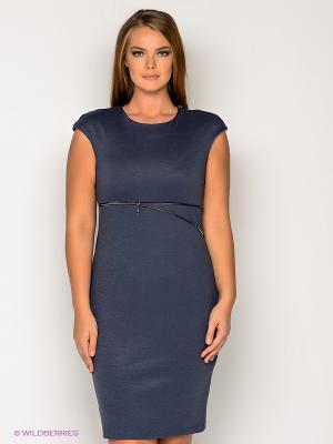 Платье МадаМ Т. Цвет: темно-синий