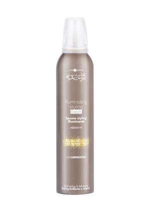 Мусс для укладки волос Hair Company Professional. Цвет: коричневый