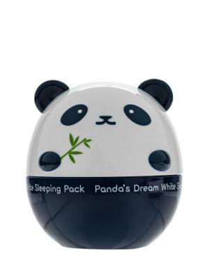 Ночная маска для лица PANDAS DREAM, 50г Tony Moly. Цвет: белый