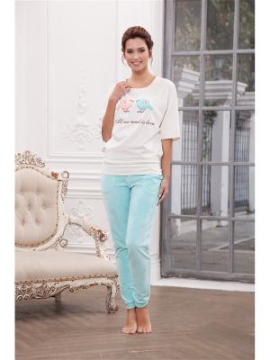 Комплект одежды CLEO. Цвет: бирюзовый