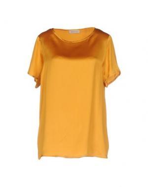 Блузка BRUNO MANETTI. Цвет: охра