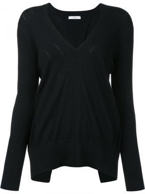 Блузка с открытой спиной Tome. Цвет: чёрный