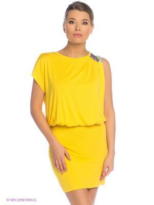 Платье Grishko. Цвет: желтый
