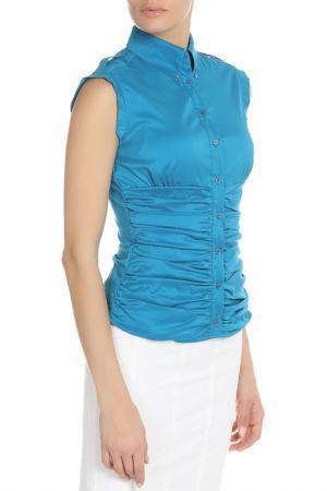 Рубашка Caractere. Цвет: синий