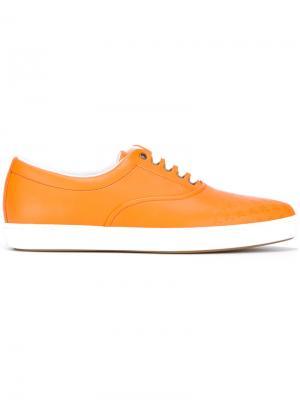 Кроссовки Malib Palms Tomas Maier. Цвет: жёлтый и оранжевый