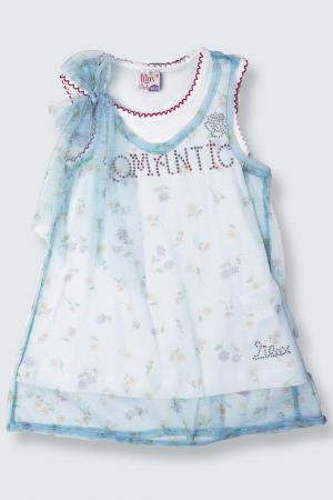 Платье Lilax Baby. Цвет: голубой