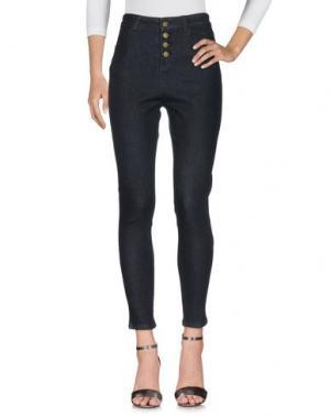 Джинсовые брюки GOLDIE LONDON. Цвет: черный