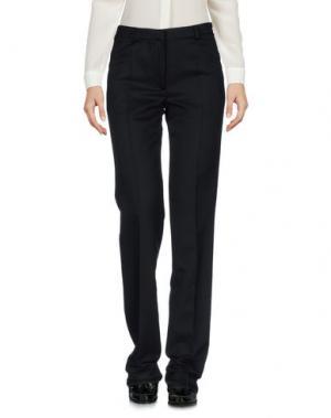 Повседневные брюки POLLINI by RIFAT OZBEK. Цвет: черный
