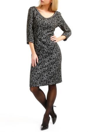 Платье TOK. Цвет: black, gold