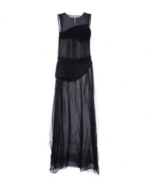 Длинное платье MARTA MARTINO. Цвет: черный