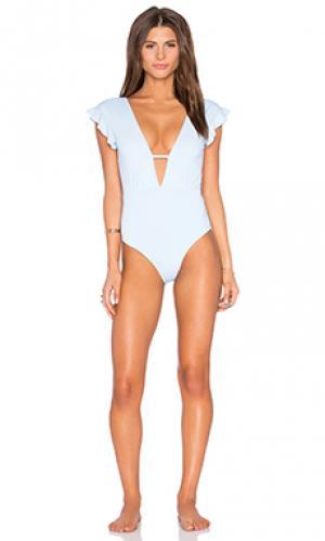 Слитный купальник sophia Beth Richards. Цвет: светло-голубой