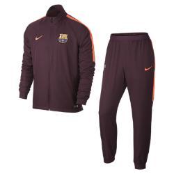 Мужской футбольный костюм FC Barcelona Dri-FIT Squad Nike. Цвет: пурпурный