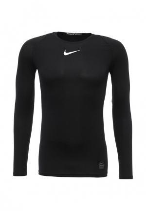 Лонгслив компрессионный Nike. Цвет: черный