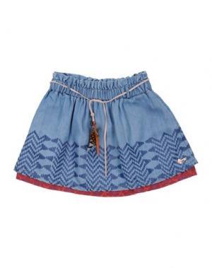 Джинсовая юбка SCOTCH R'BELLE. Цвет: синий