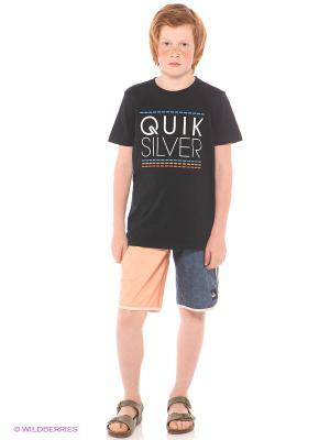 Шорты REYNOLDS U18 YOUTH Quiksilver. Цвет: синий, бежевый