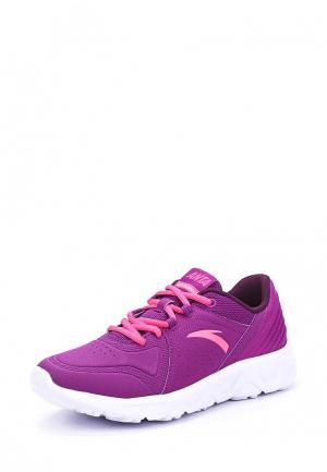 Кроссовки Anta. Цвет: фиолетовый