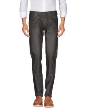 Повседневные брюки NOTIFY. Цвет: темно-коричневый