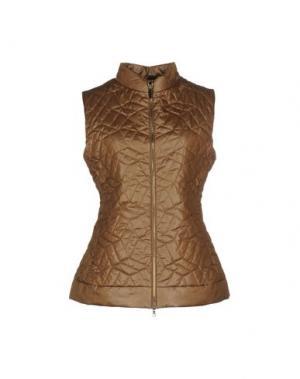 Куртка BRUNO MANETTI. Цвет: коричневый