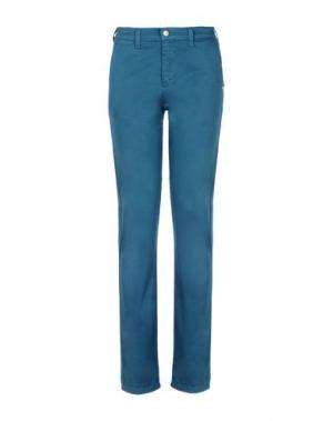 Повседневные брюки MONKEE GENES. Цвет: цвет морской волны