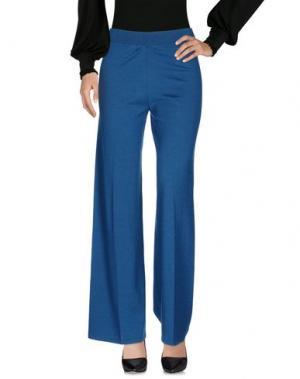 Повседневные брюки SIYU. Цвет: цвет морской волны