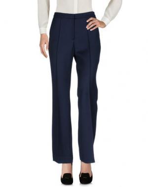Повседневные брюки LALA BERLIN. Цвет: темно-синий