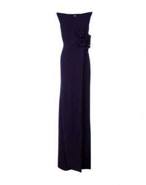 Длинное платье DSQUARED2. Цвет: темно-фиолетовый