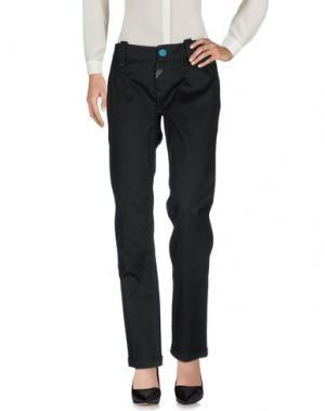 Повседневные брюки DEK'HER. Цвет: черный