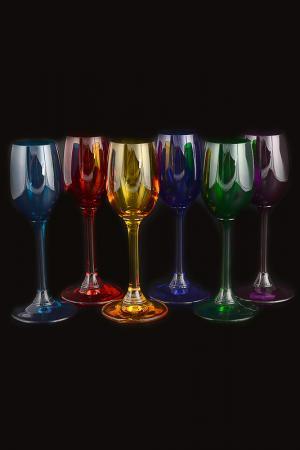 Набор рюмок для водки 65 мл Crystalite Bohemia. Цвет: прозрачный
