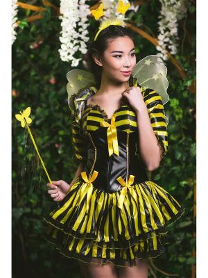 Костюм пчелы La Mascarade. Цвет: черный,желтый