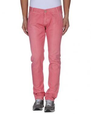 Джинсовые брюки 2W2M. Цвет: пастельно-розовый