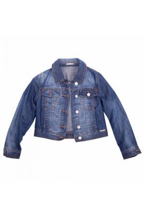 Жакет Gulliver. Цвет: голубая джинса
