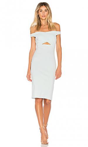Платье salt lake BEC&BRIDGE. Цвет: нежно-голубой