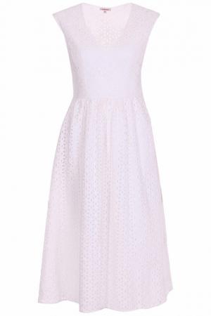 Платье P.A.R.O.S.H.. Цвет: белый