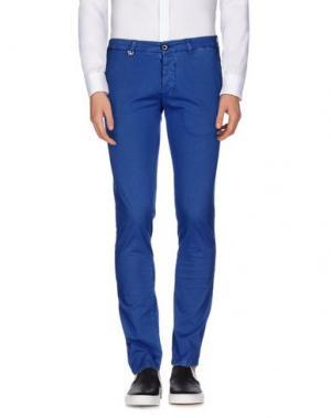 Повседневные брюки DW⁵. Цвет: ярко-синий