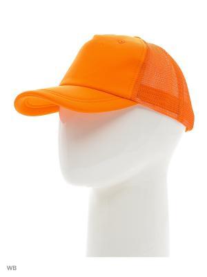 Бейсболка United Colors of Benetton. Цвет: оранжевый