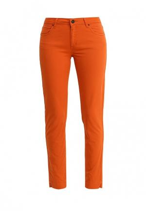 Брюки Sinequanone. Цвет: оранжевый