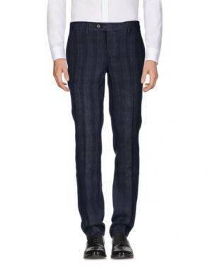 Повседневные брюки HARRY & SONS. Цвет: стальной серый